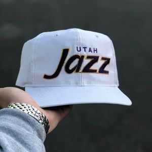 VINTAGE SPORTS SPECIALTIES UTAH JAZZ SCRIPT